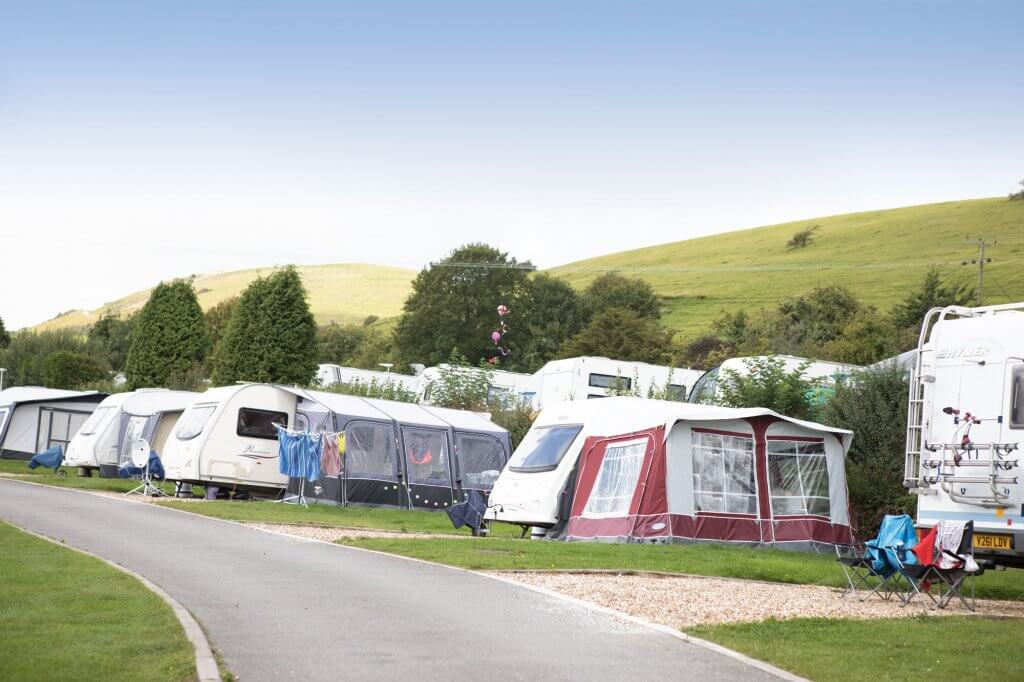 swanage campsite