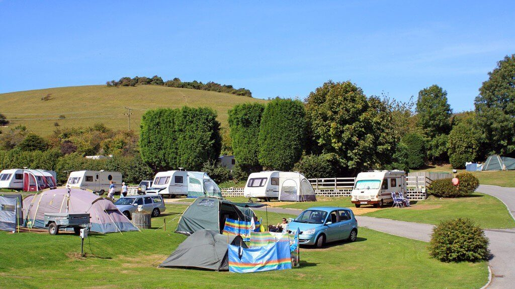 camping in swanage