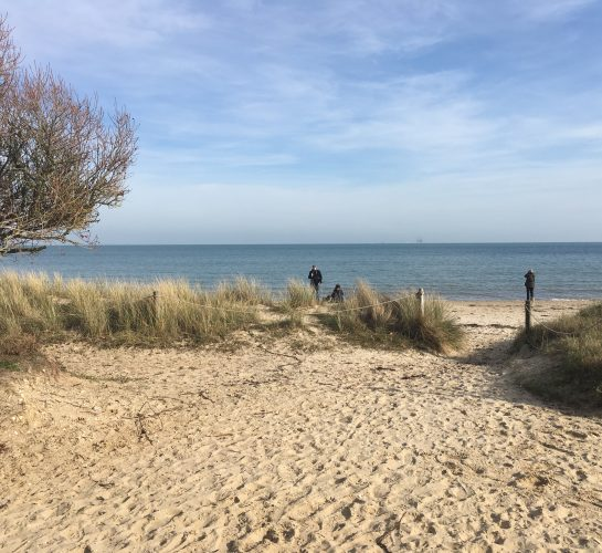 Scenic walks from ulwell to studland