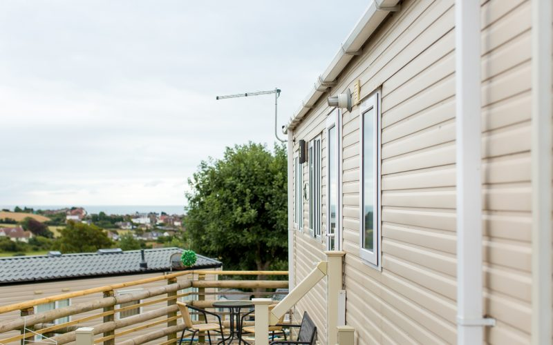 holiday homes for hire verandah at ulwell holiday park