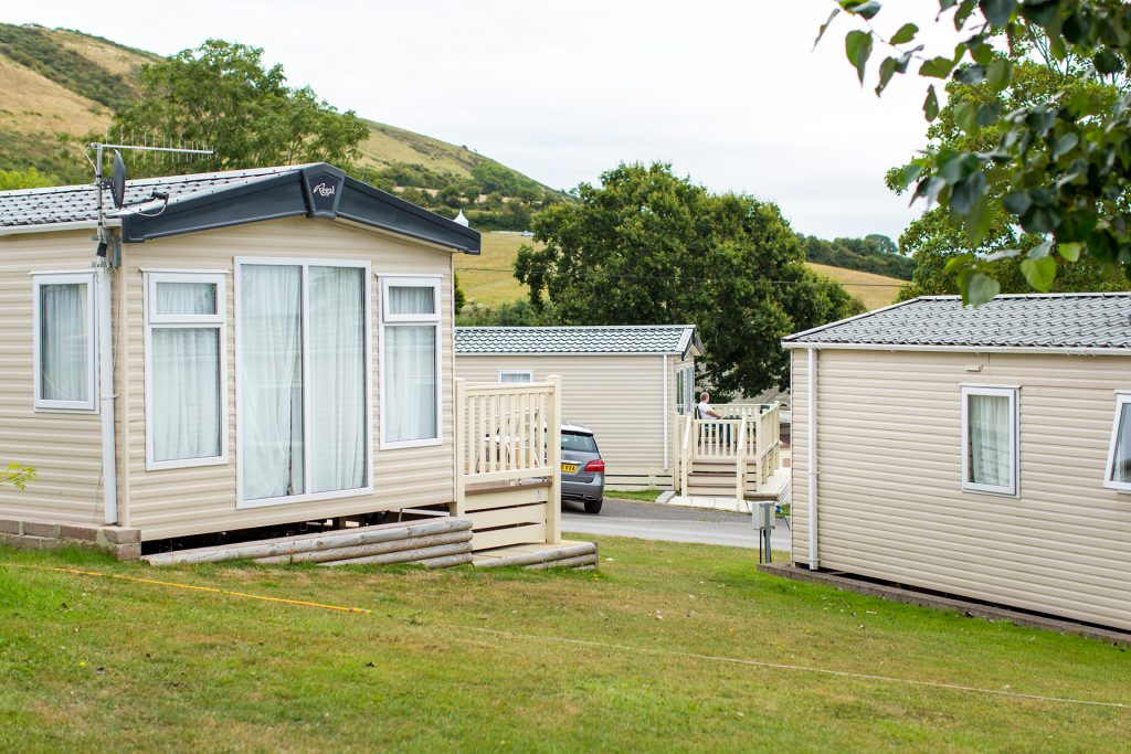caravan holiday homes for hire at ulwell holiday park