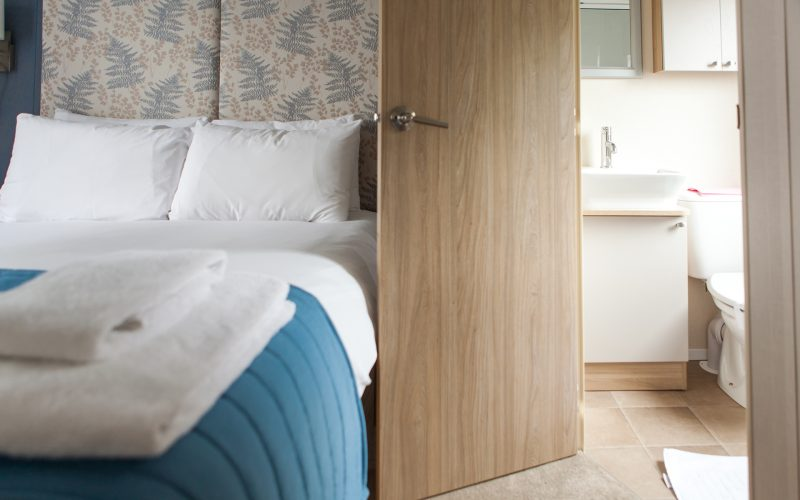 prestige caravan bedroom