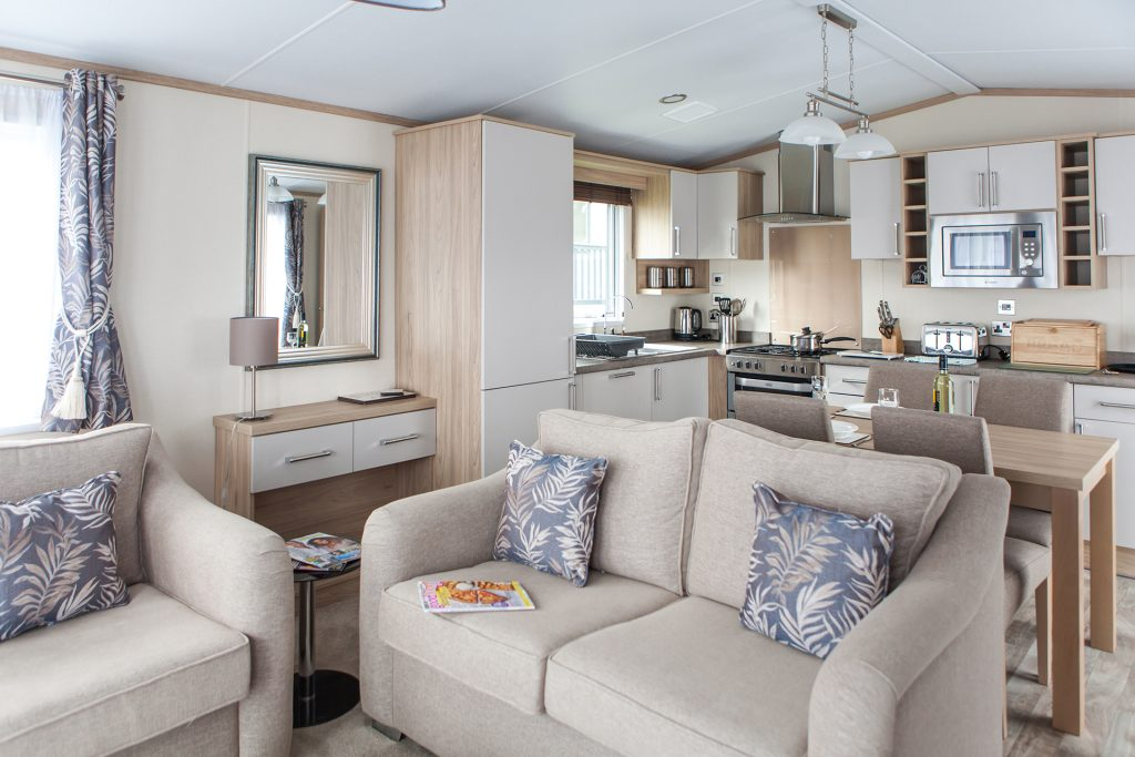 self contained holiday home