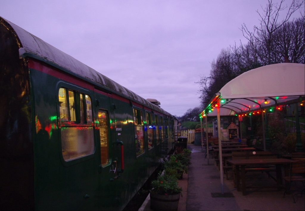 swanage railway at christmas