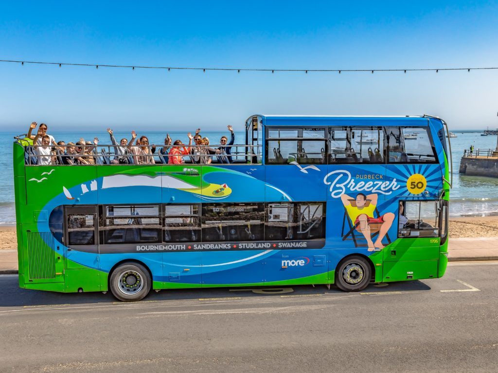 purbeck breezer bus