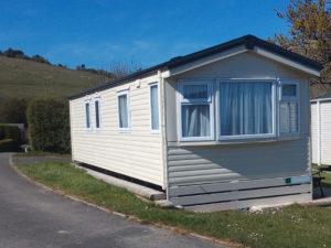 bronze caravan holiday home