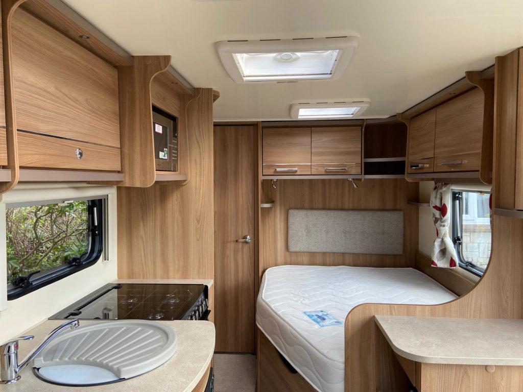 caravan interior spring clean