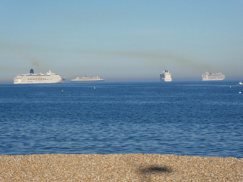 cruise ships in Weymouth