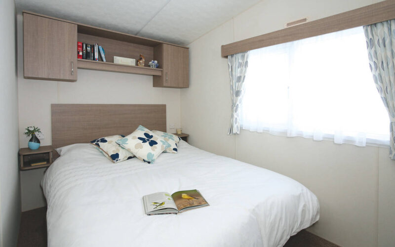 Delta bromley holiday home master bedroom