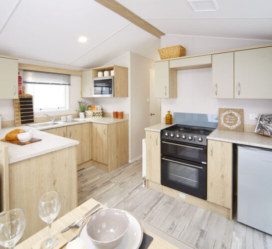 atlas mirage holiday home kitchen