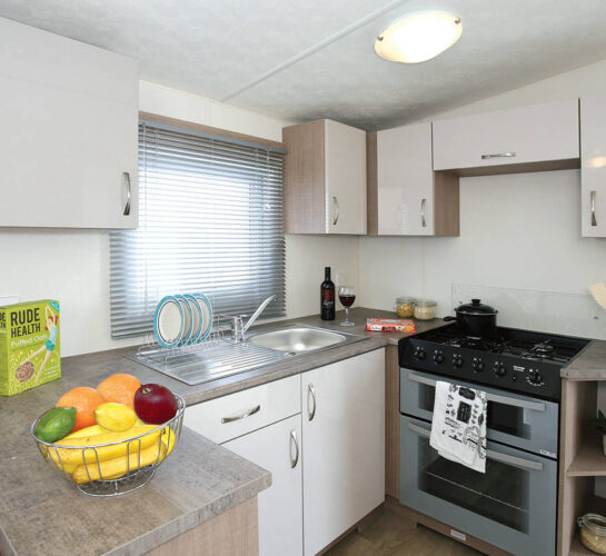 delta bromley holiday home kitchen
