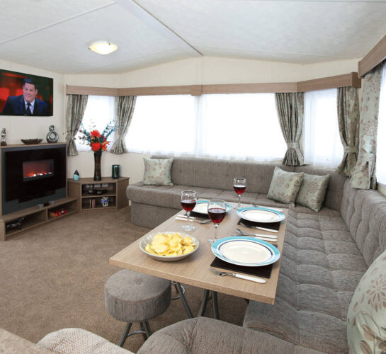 delta bromley holiday home lounge