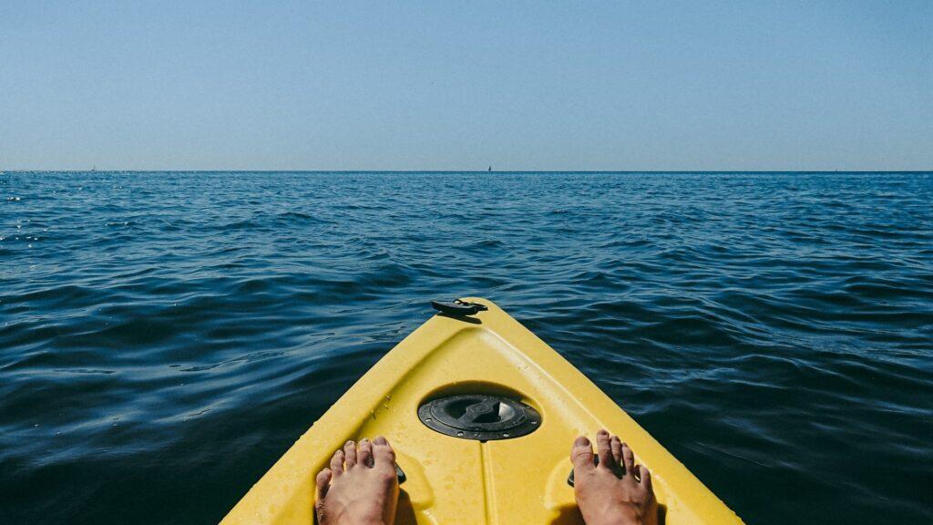 Kayaking in dorset