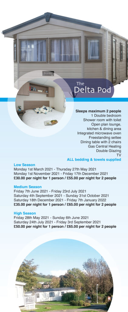 the delta pod prices 2021 ulwell holiday park