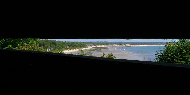 View from fort henry