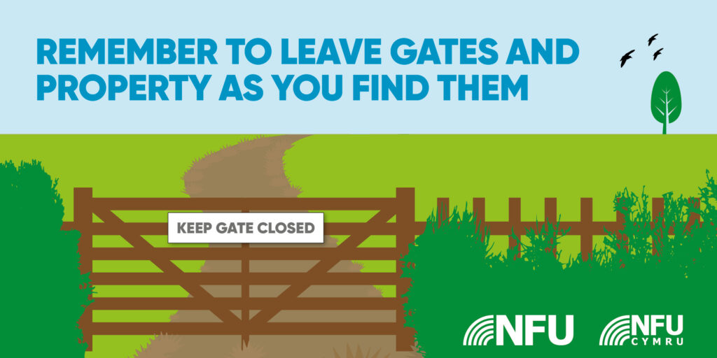 Leave gates as you find them