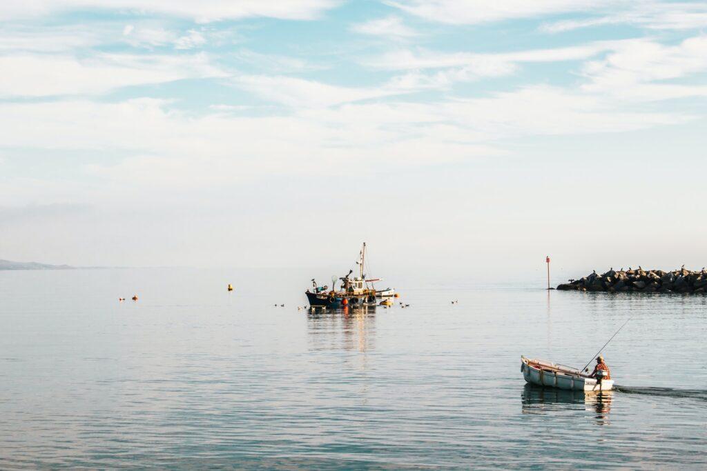 lyme regis fishing boat