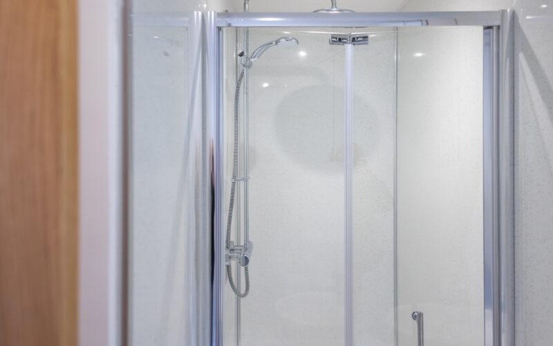 the studio shower