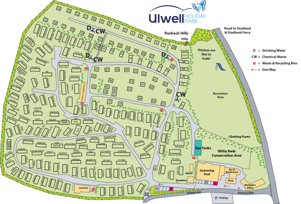 ulwell holiday park map 2021